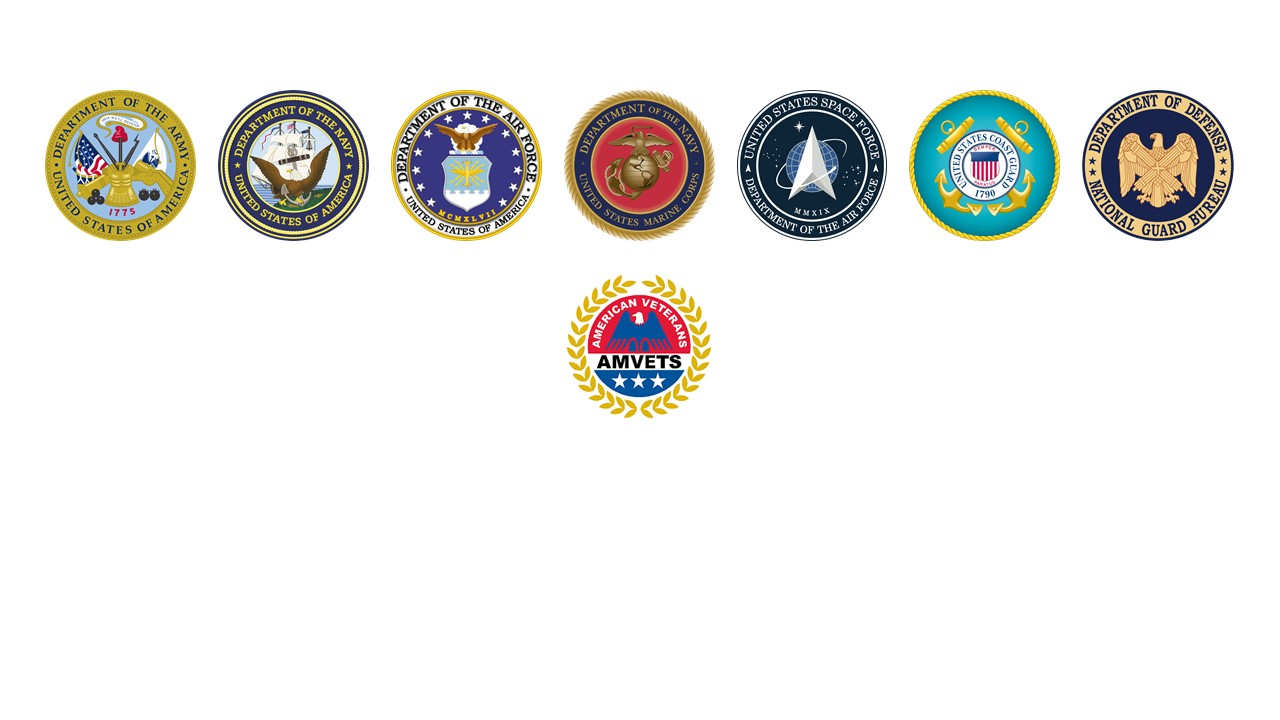 This image has an empty alt attribute; its file name is armed-forces-seals.jpg